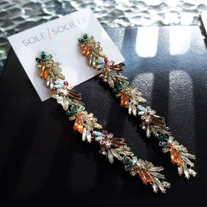 """4.5"""" of Crystals, Bling & Color Galore - Ear Candy"""